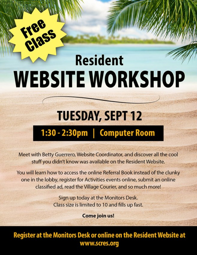 WebsiteWorkshopClassFlyer